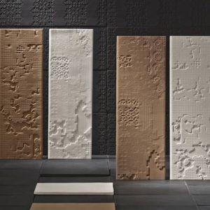 Pavimentos en piedra natural, solados y alicatados con gres porcelánico rectificado todomas de gran formato.